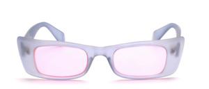 Schicke Sonnenbrille mit breiten Rahmen