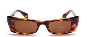 Square sunglasses with wide side sections