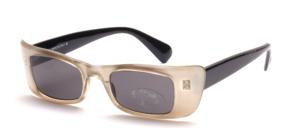 Eckige Sonnenbrille mit breiten Seitenpartien