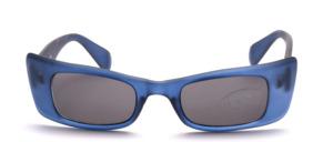 Schicke eckige Sonnenbrille mit breiten Seitenpartien