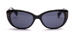 Bigger ladies sunglasses with 3 gold studs on each side
