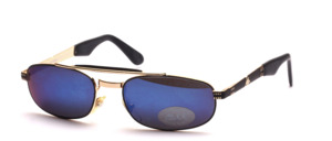 A flatter, slightly wider cool mens metal sunglasses with headband