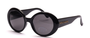 Schöne, größere Damen Sonnenbrille mit breiten Bügeln und Robe Di Kappa Logo