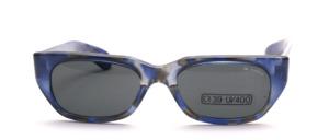 Flachere schicke Sonnenbrille