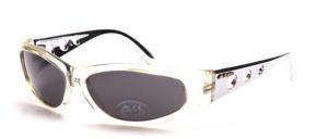 Sportlich, leicht gekurvte unisex Sonnenbrille
