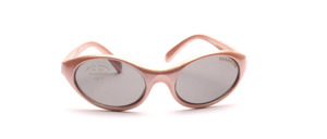 Children's sunglasses in pink with gray lenses