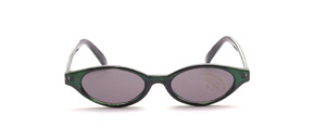 Children's green sunglasses with gray lenses