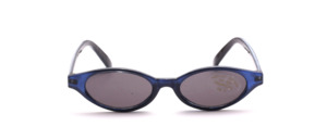 Children's sunglasses in blue with gray lenses