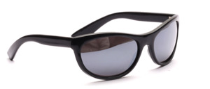 Sporty 80s sunglasses in black