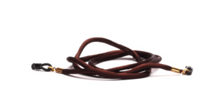 Brown strap made of thick silk